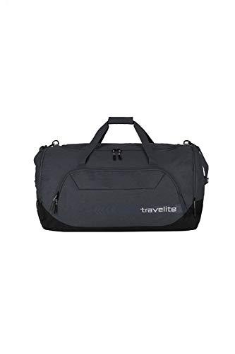 travelite große Reisetasche Größe XL, Gepäck Serie KICK OFF: Praktische Reisetasche für Urlaub und Sport, 006916-04, 70 cm, 120 Liter, d'anthrazit (grau)