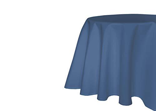TextilDepot24 - Tovaglia da giardino, effetto lino, antimacchia, non necessita di stiratura