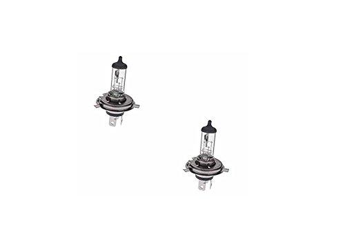C63® Paar H4 (472) Premium Halogeen Auto Koplampen. 55w wit licht. Xenon Gas
