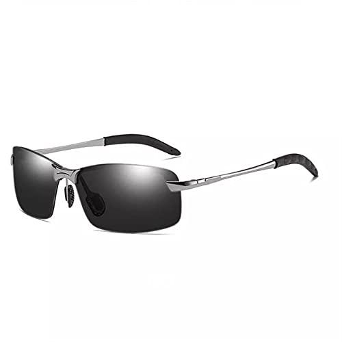 Color Cambio de gafas de sol Hombres polarizados Chameleon Gafas día y noche Visión nocturna Gafas de gafas Hombres que conducen gafas de sol UV400 Gafas de sol polarizadas Hombres geniales para mujer