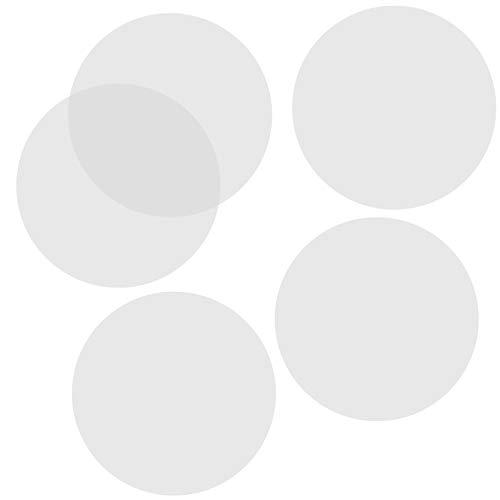 Aallo 100 Piezas Papel de Pergamino Redondos Sin Perforado Papel de Hornear Redondo Aire Freidora Forros para Parrilla, Hornear, Aire Freidora, Hamburguesas- 7 Pulgadas