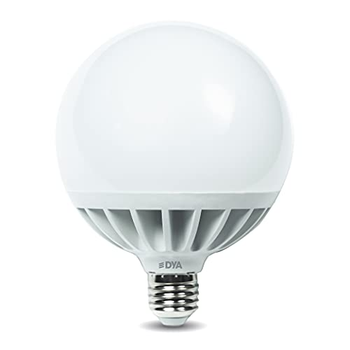 DYA - LAMPADINA LED GLOBO ALTA LUMINOSITÀ - 24W EQUIVALENTI A 200W - E27-4000K LUCE NATURALE