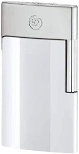 【名入れ無料】【ラッピング無料】デュポンS.T.Dupont ライター E-スリム 電子ガス式 クロームホワイト