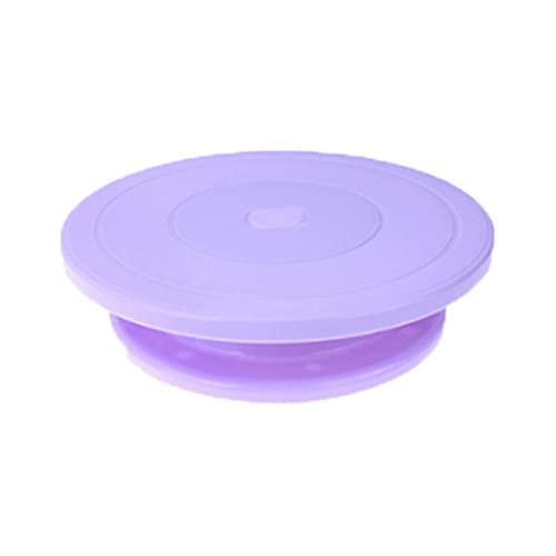 DYXYH Pastel Giratorio plástico plástico rotativo Antideslizante Soporte Redondo Bricolaje tortas Decoracion de decoración de Mesa rotativa Placa de Cocina Herramientas de Hornear (Color : C)