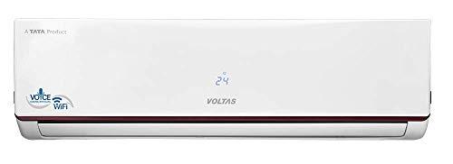 Voltas 1.5 Ton 3 Star Wi-Fi Inverter Split AC (Copper, 183V WZJ, White)