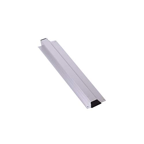Hemoton 30cm Clip de menú de Acero Inoxidable Cocina Aluminio Inserto único Clip de documento Clip de recibo Tipo de Pared Colgante Clip de inserción Individual (Plata)