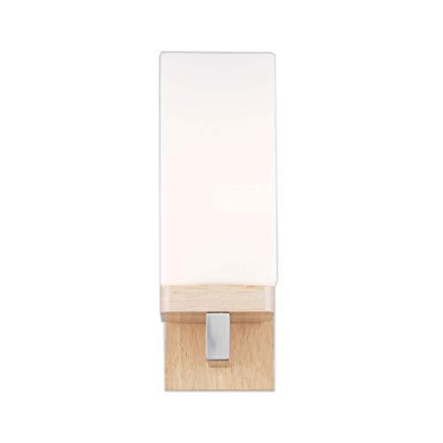 Vast LED eenvoudige stijl E27 Energy Saving wandlamp met glas Shadelamp leeslamp trap nachtlamp voor gang, 30 cm x 10 cm 221