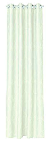 Esprit Home 70016-001-140-245 Rideau à œillets ondulé Blanc 1,4 x 2,45 m