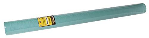 Pro Nappe - Réf R485069I - Nappe jetable papier damassé en rouleau 50 M de long X 1,20 M de large - Couleur vert deau - Papier damassé au motif universel chic et classique