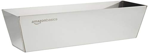 Amazon Basics - Bandeja para mezcla, acero inoxidable, 30.48 cm
