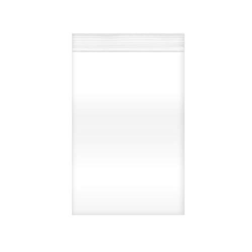Reclosable Clear Plastic Zip Bags - by DiRose   Resealable, Strong, Thick, Sturdy, Food Safe   for Organizing, Travel, Shipping, Packaging, and Storage   4x6   100 Pack