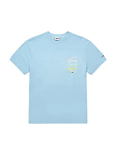 Tommy Hilfiger Jeans Tjm Tommy Repeat Script Tee Camiseta Hombre DM0DM11511 C1T...