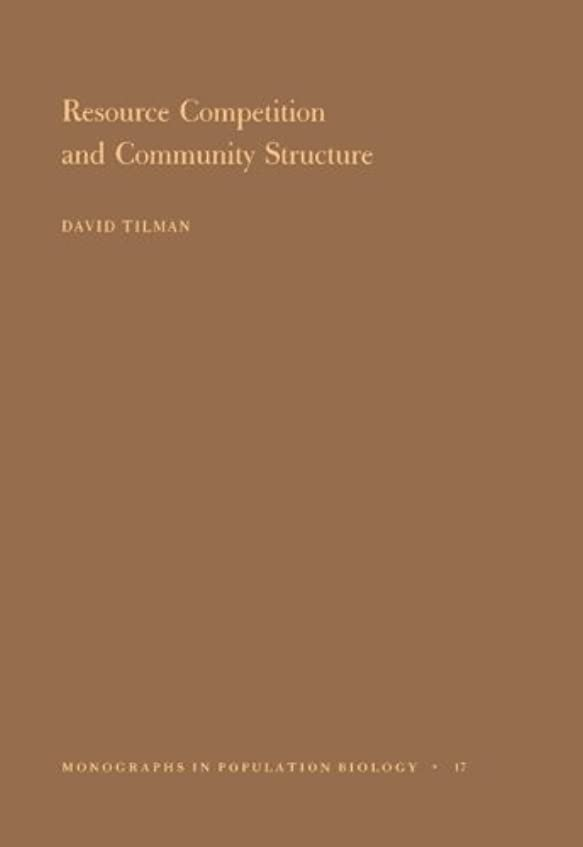 扇動オーバーコートレイResource Competition and Community Structure (Monographs in Population Biology)