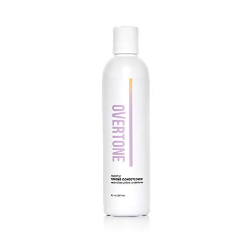 oVertone Haircare Purple Toning Conditioner | Neutralizes Yellow...