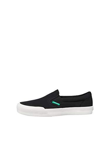 JACK & JONES Male Sneaker Slip-on Leinen 40Anthracite