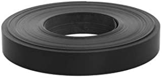 Slatwall Vinyl Accent Strip, Black 1.18