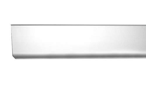 Fuchs Design Sockelleiste 25 m Meter - Höhe: 80 mm FUCHS Aluminium silber matt eloxiert silber matt