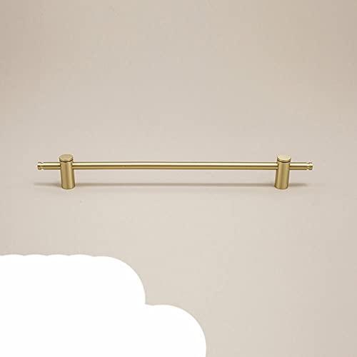 Muebles mango largo Nordic re cobre moderno simple luz dorada de lujo en general armario armario armario armario de baño largo-360mm