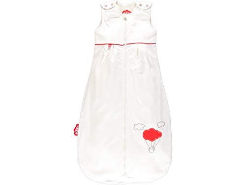 4 Jahreszeiten Kinderschlafsack in 3 Größen & vielen süßen Designs - Atmungsaktiver Schlafsack für einen erholsamen Schlaf mit Zizzz (110cm (24-48 M), Balloon)