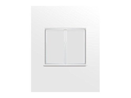 Soleil d'ocre Dolly Paire de Brise Bise, Polyester, Blanc, 70x90 cm