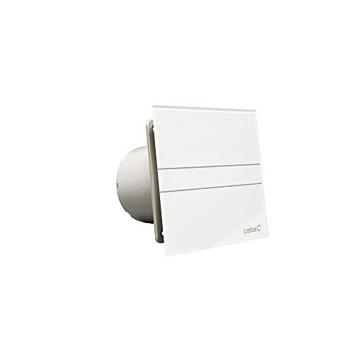 Cata | Extracto de Baño | Modelo E-100 G | Potencia de Absorción 8 W | Extractor Baño Silencioso | 230 V | Velocidad 2600 r.p.m | Color Blanco |