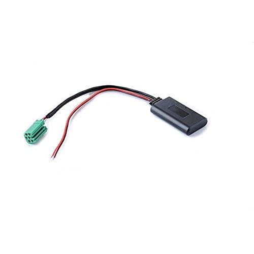 AUX Cavo Adattatore Bluetooth Module Audio Music interface per Radio CD, mini iso, 6 pin, compatibile con Renault clio Kangoo Laguna Megane Scenic Twingo Modus scenic