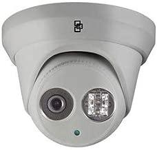 INTERLOGIX | TVT-5304 Network Camera 4MP, IP, IR, Turret, WDR, Day/Night, H.264/MJPEG, 4 Megapixel, 2688 x 1520 Resolution, 2 Fixed 2.8 MM Lens, 12 Volt DC, 7.5 Watt, PoE