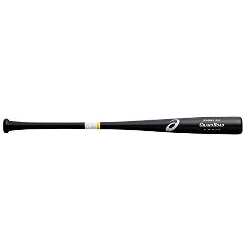アシックス(asics) 野球 少年用 軟式 木製 バット GRAND ROAD グランドロード プロモデル 3124A105 ブラック(大谷選手モデル) 001 78�p