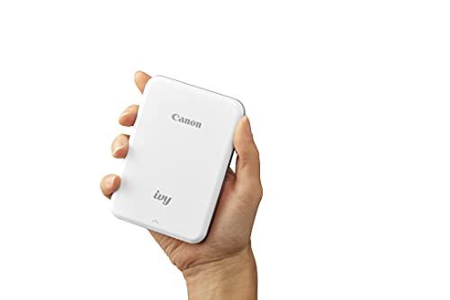 Canon IVY Mini Photo Printer for Smartphones (Rose Gold) - Sticky-back prints, Pocket-size