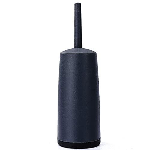 Cepillo y soporte para inodoro silicona Cepillo De Inodoro Cerrado Tenedor De Mango Largo Cepillo De Inodoro Diseño Simple Diseño De Inodoro Cepillo De Baño Limpieza De Baño Conjunto De Cepillos De In