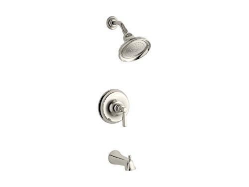 Kohler TS10581-4-SN Bancroft Bath/Shower Trim. Metal, Vibrant Polished Nickel