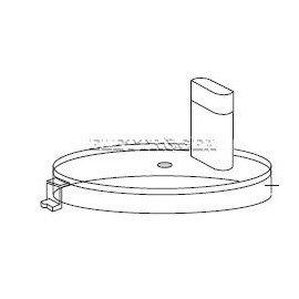 Deckel Küchenmaschine de Longhi Mod. kr700p, kr1000s, kr1000p, kr750p, kr700p kr650p