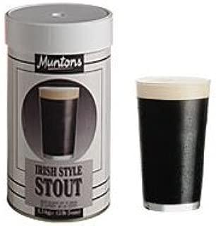 手作りビールキット イギリス マントン アイリッシュスタウト(缶単体、イースト付、オリジナル説明書添付)
