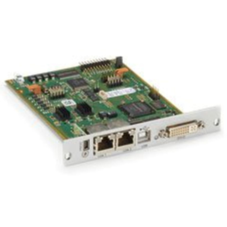 戦士満足できる周波数DKM FX トランスミッターモジュラーインターフェースカード、冗長伝送、DVI-D、USB HIDオーバーCATX。