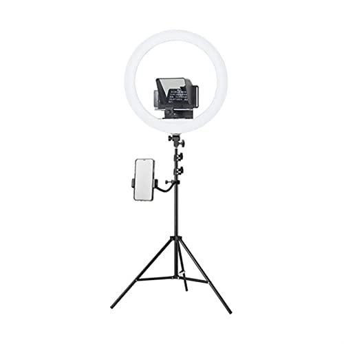 JuZi Store Teleprompter for Youtube Tiktok Facebook Video Live Streaming, teleprompter portátil for Tablet Smartphone DSLR Cámaras, Pequeña entrevista de Video Portátil Exterior FILACIÓN TELEPROMPTER