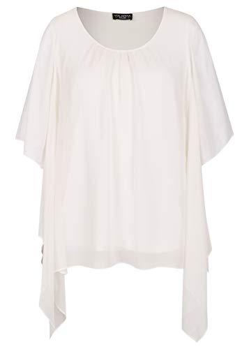 Via Appia Due Damen Sommerliche Bluse mit Raffung