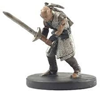 D&D Fantasy Miniatures - Icons of the Realms - Elemental Evil - Earth Genasi Fighter