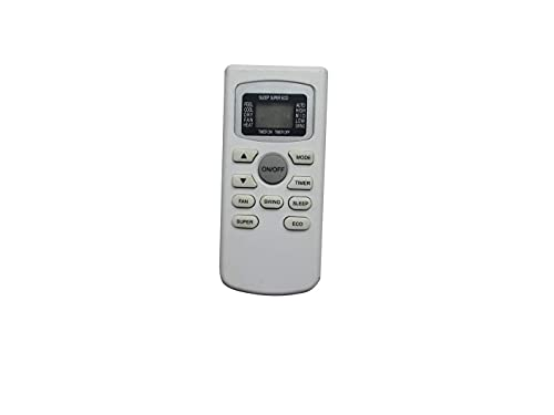 Replacement Remote Control for Black Decker GYKQ-34E BPACT10WT BPACT08WT BPACT12HWT BPACT12WT BPACT14HWT BPACT14WT BPACT14H Portable Air Conditioner
