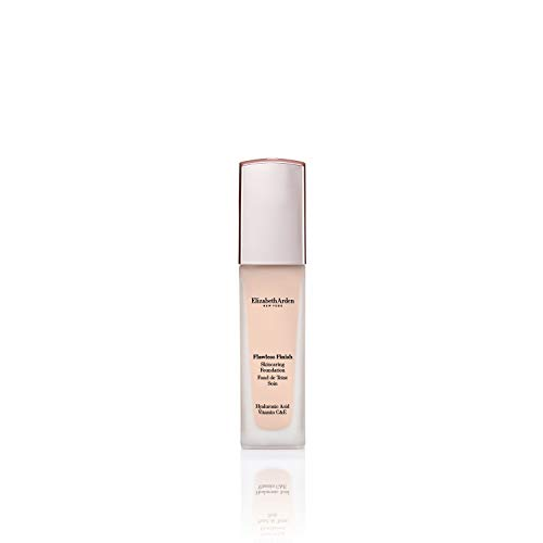 Elizabeth Arden Flawless Finish Skincaring Foundation with Hyaluronic Acid, Vitamin C & E, 110N (Very fair skin with neutral undertones), 1 fl. oz.
