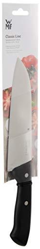 WMF Santoku - Cuchillo de Chef (Longitud 31,5 cm, Hoja Especial de 18 cm, Mango de plástico)