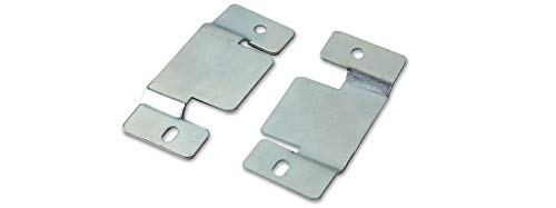 Metal unibles conexión Clips para sofás y muebles X 1 pares con tornillo