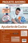 Paquete Ahorro Ayudante de Cocina de la Administración de la Comunidad de Castilla y León. Ahorra 43 € (incluye Temario y Test materias comunes; ... materias específicas y acceso a Curso Oro)