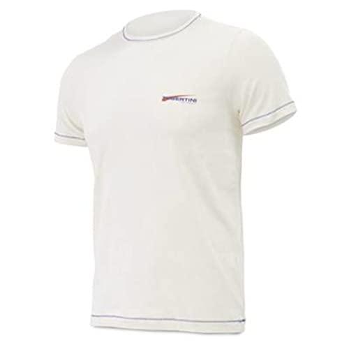 Tubertini Camiseta Bambu – Art. 72073xx – Línea Professional, blanco, XXL