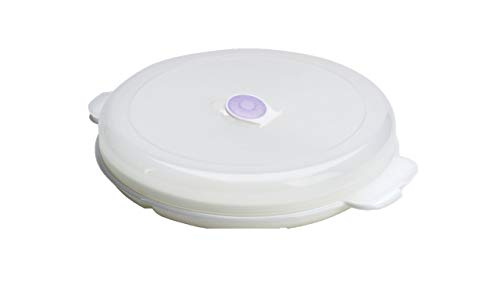 Conny Clever 3X Mikrowellenteller mit Haube und Dampfventil (3 Stück)