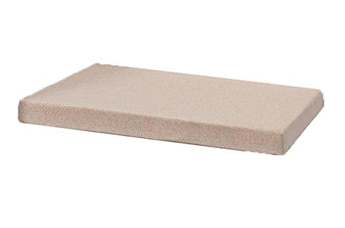Cojín largo de 5 cm de grosor, almohadillas de repuesto para asiento de banco de madera, antideslizantes, extraíbles, lavables, para exteriores, jardín, patio, columpio interior