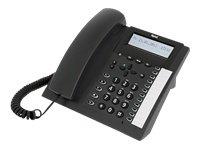 TIPTEL 2020 - Teléfono RDSI, color negro (importado)
