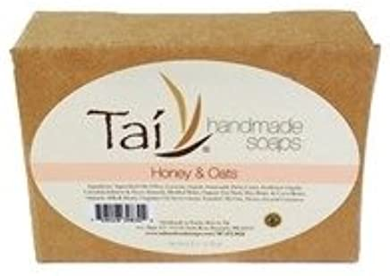 Organic Natural Handmade Soaps - Honey & Oats - 4.5 oz Bar