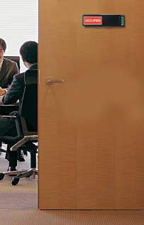 Privacy Sign (Do Not Disturb Sign, Restroom Sign, Office Sign, Conference Sign, Vacant Sign, Occupied Sign) - Tells Whether Room in Vacant or Occupied Photo #2