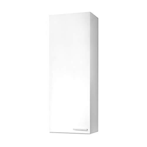 ARKITMOBEL 305270BO - Mueble de Lavabo Koncept, Columna de baño Acabado en Color Blanco Brillo, Medidas: 30 x 85 x 25 cm de Fondo