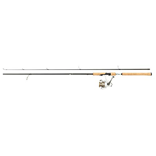Abu Garcia Pro Max Cork Handle Lightweight Carbon Spinning Rod and Reel Combo Set - for Freshwater and Saltwater Predator Fishing